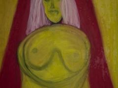 Žena z východu/The women from the East(©Peter Gasparik)2006, oil on canvas, 80x100 cm