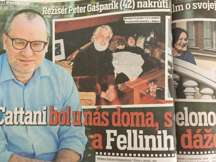 Peter Gašparík na cas.sk o mame a o filme